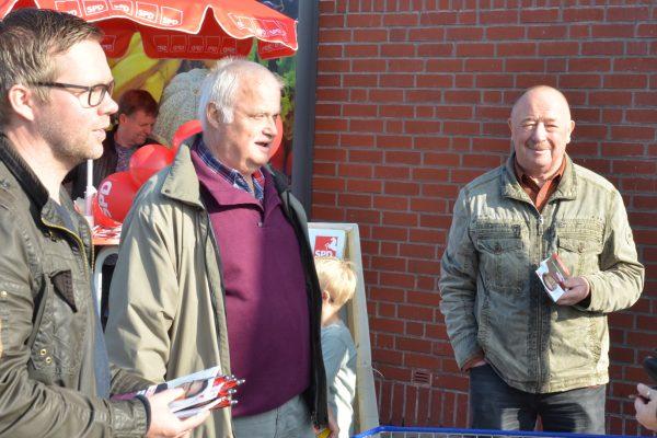 Rudi während des letzten Wahlkampfes