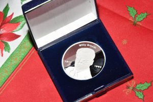 Willy Brandt Medallie