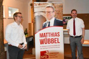 Benno u.Matthias vor dem Roll up